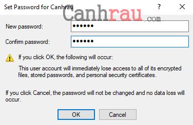 Cách đặt mật khẩu cho máy tính hình 6