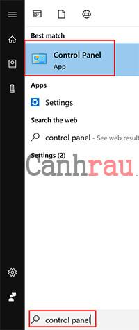 bật tắt tường lửa trên Windows 10 trong Control Panel hình 1