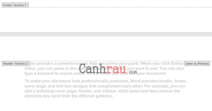 đánh số trang từ trang bất kỳ, đánh số trang trong Word theo ý muốn hình 3