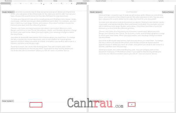 đánh số trang từ trang bất kỳ, đánh số trang trong Word theo ý muốn hình 9