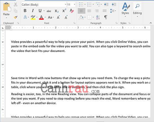 Cách giãn dòng trong Word bằng biểu tượng Paragraph trên thẻ Home hình 5
