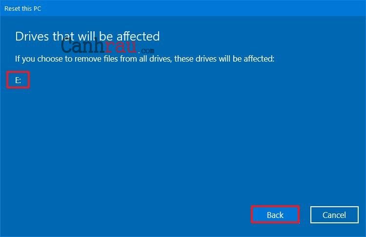 Cách reset máy tính trên Windows 10 hình 13