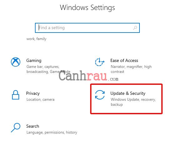 Cách reset máy tính trên Windows 10 hình 2