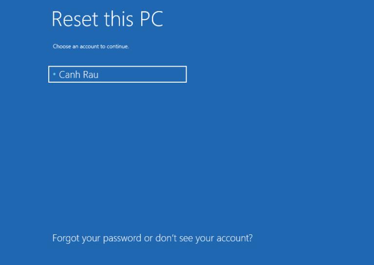 Cách reset máy tính trên Windows 10 hình 20
