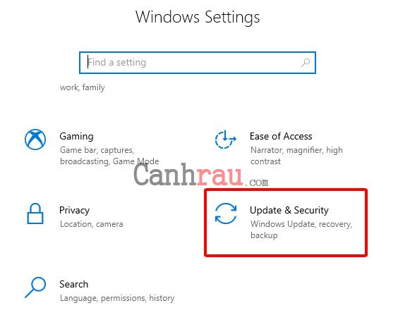 Cách reset máy tính trên Windows 10 hình 7