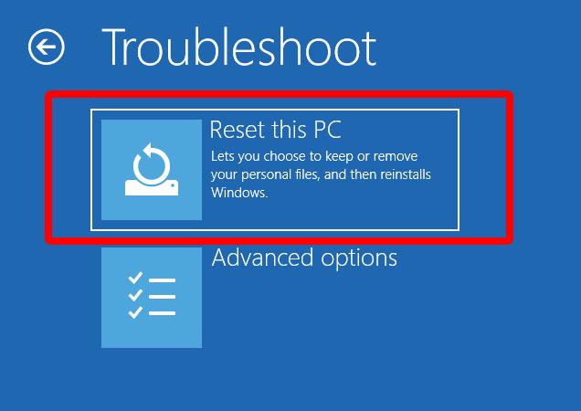 Cách reset máy tính Windows 10 bằng login screen hình 3