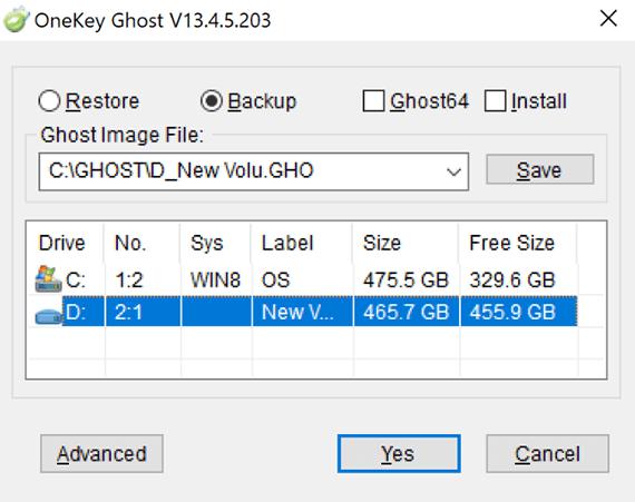 cách tạo file Ghost win 10 với Onekey Ghost dễ dàng 3