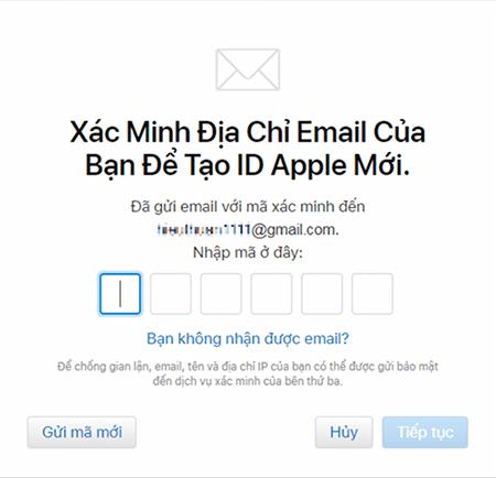 cách tạo tài khoản iCloud mới miễn phí trên web bằng PC 3