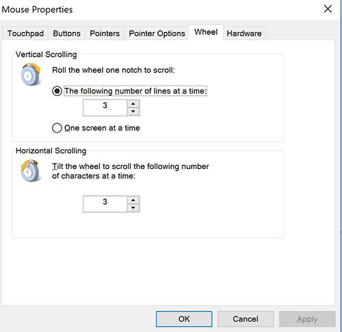 cách thay đổi tốc độ con lăn chuột trên máy tính hình 2