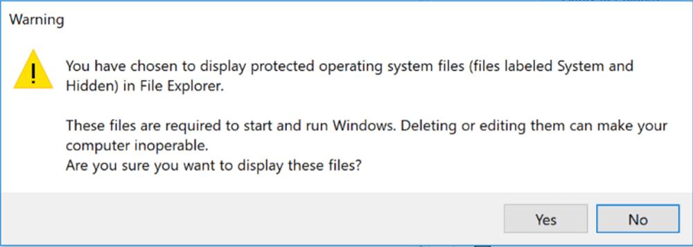 Cách xem lại file dữ liệu sau khi khóa Folder 3