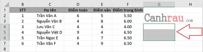 Cách chèn thêm nhiều dòng, cột bằng phím tắt trong Excel hình 4