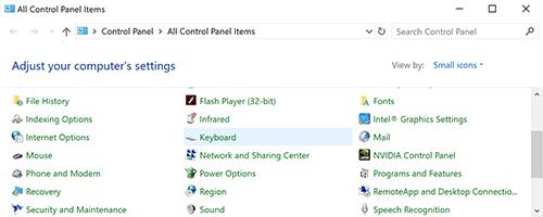 cách điều chỉnh tốc độ chuột máy tính trong Windows 10 hình 2