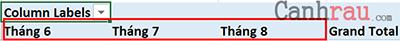Hướng dẫn cách sử dụng Pivot Table trong Excel hình 5