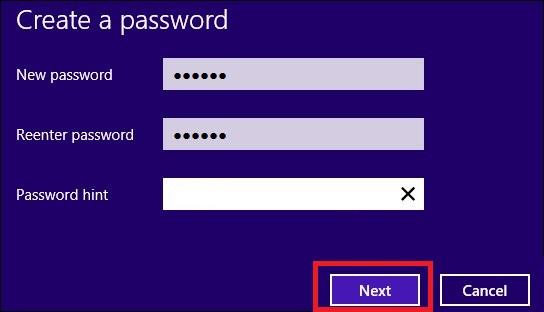 hướng dẫn cách thay đổi mật khẩu máy tính win 8 hình 4
