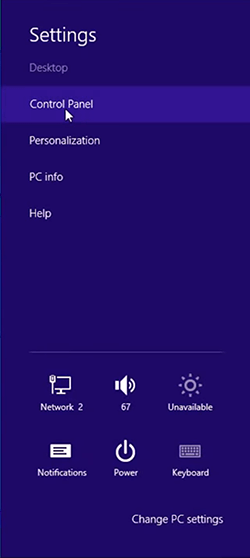 cách thay đổi tốc độ chuột Windows 8 hình 1