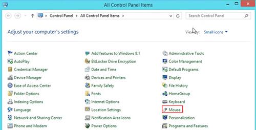 cách thay đổi tốc độ chuột Windows 8 hình 2