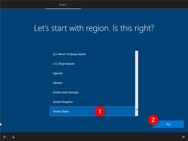 Hướng dẫn cách thiết lập lần đầu cài đặt Windows 10 1
