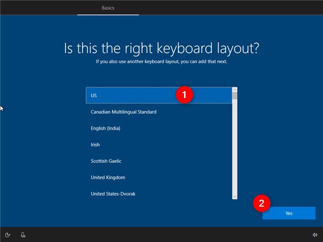 Hướng dẫn cách thiết lập lần đầu cài đặt Windows 10 2