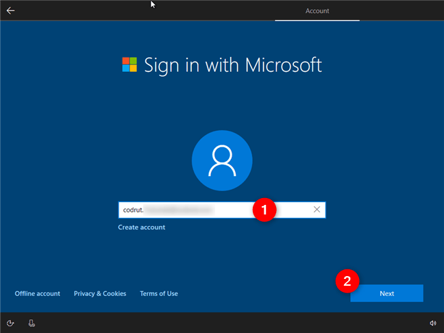 Hướng dẫn cách thiết lập lần đầu cài đặt Windows 10 6