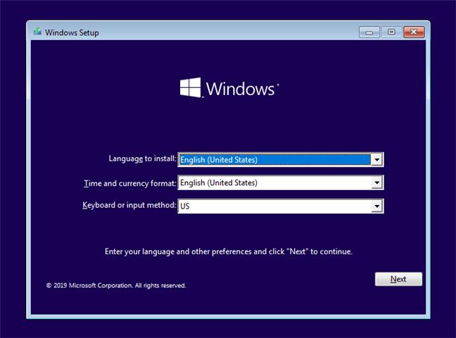 Hướng dẫn cài Windows 10 bằng USB 1