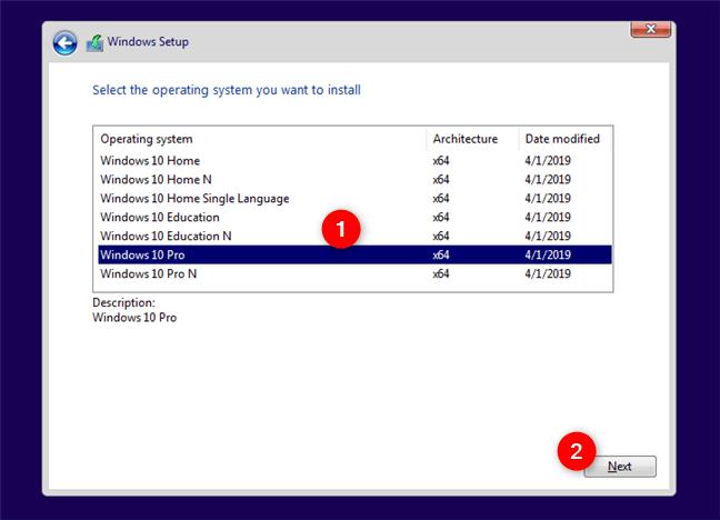 Hướng dẫn cài Windows 10 bằng USB 4