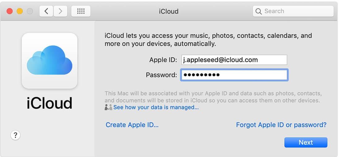 Hướng dẫn đăng ký tài khoản icloud bằng Mac hình 5