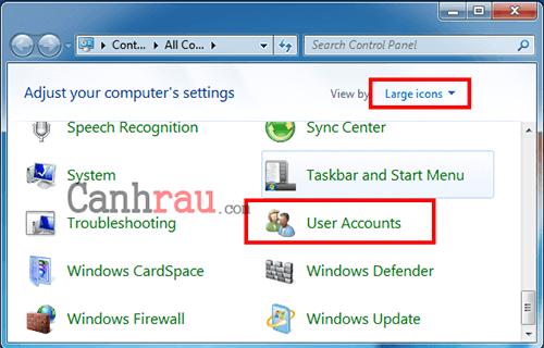 Hướng dẫn đặt Password máy tính để bàn hình 6