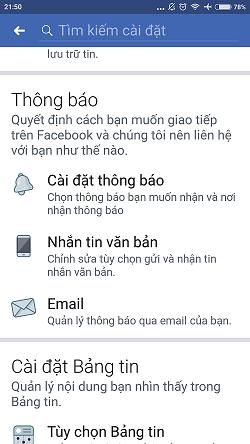 Hướng dẫn tắt thông báo Facebook trên Android 3