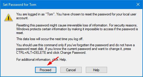 Hướng dẫn thay đổi mật khẩu máy tính trên Windows 10 hình 3