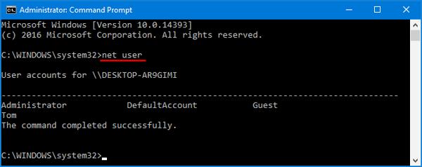 Hướng dẫn thay đổi mật khẩu máy tính trên Windows 10 hình 9