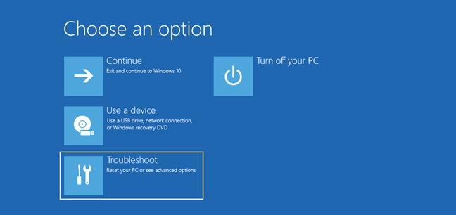 khởi động vào chế độ Safe Mode Windows 10 3