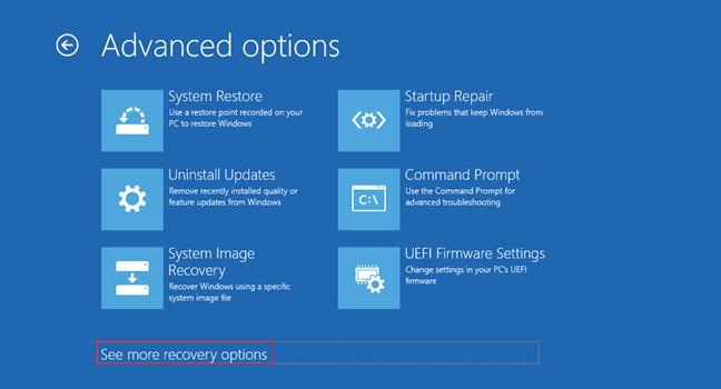 khởi động vào chế độ Safe Mode Windows 10 5