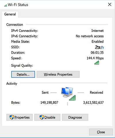 Lỗi cấu hình IP máy tính bị sai 3