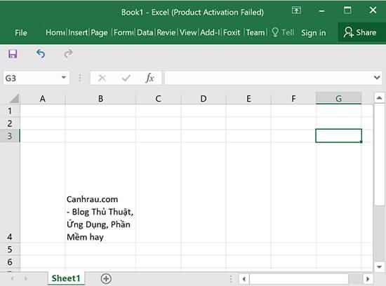 Sử dụng phím tắt Alt + Enter để xuống dòng trong Excel hình 2