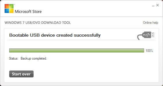 Sử dụng Windows USB/DVD Download Tool tạo USB Boot Windows 10 5
