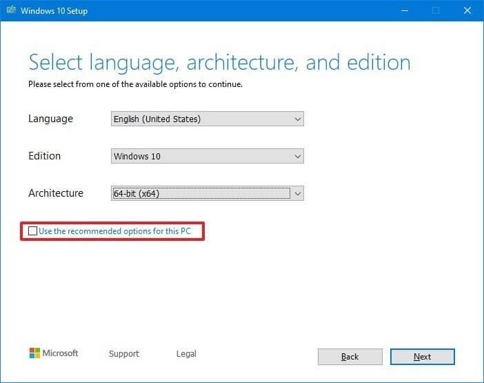 tạo usb boot Windows 10 bằng media creation tool hình 3