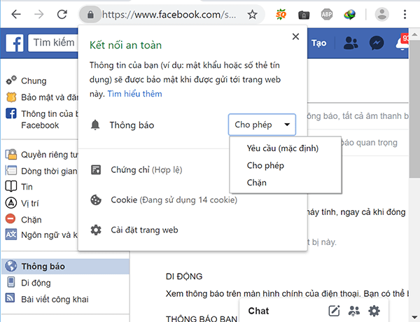 Tắt thông báo Facebook chỉ với 1 click
