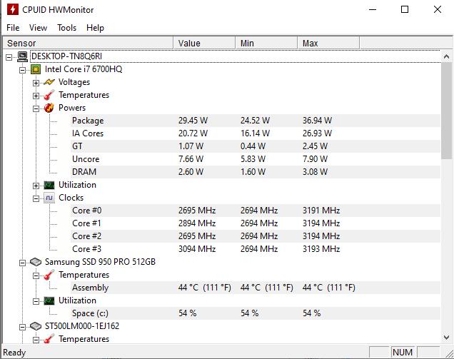 Top phần mềm kiểm tra nhiệt độ hình 2
