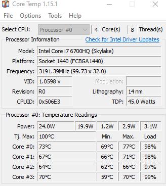 Top phần mềm kiểm tra nhiệt độ hình 3