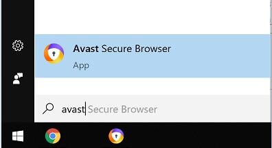 Trình duyệt Avast Secure Browser hình 1