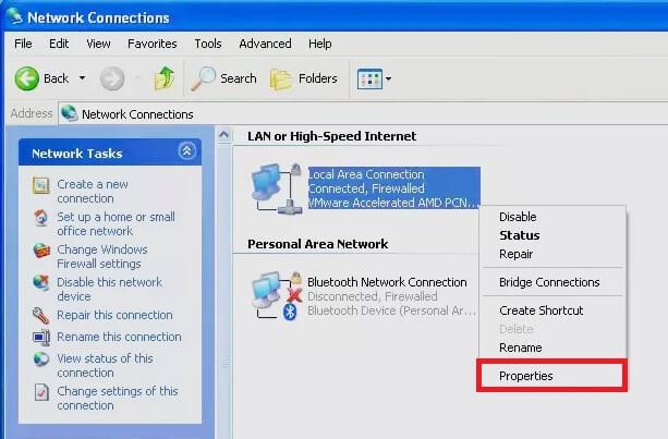 Vô hiệu hóa tường lửa trong Windows xp hình 4