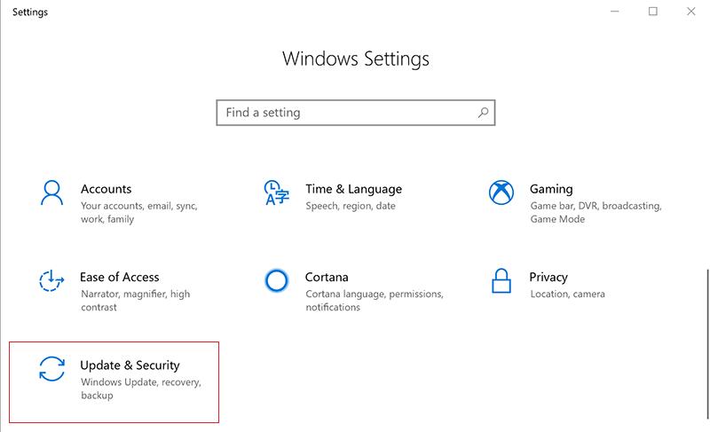 Vô hiệu hoá Windows Defender tạm thời bằng Settings 1