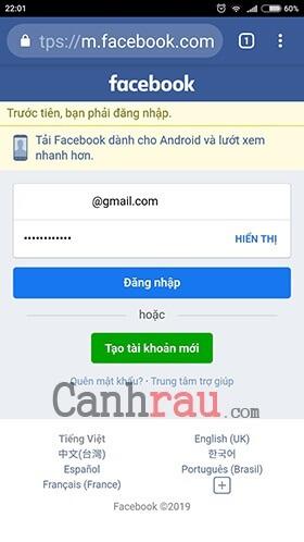 xóa tài khoản facebook trên điện thoại vĩnh viễn hình 1