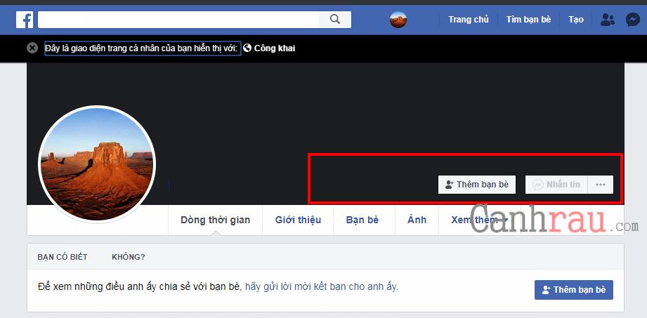 bật chế độ theo dõi công khai facebook hình 2