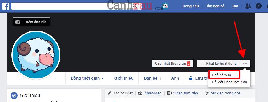 bật chế độ theo dõi công khai facebook hình 5