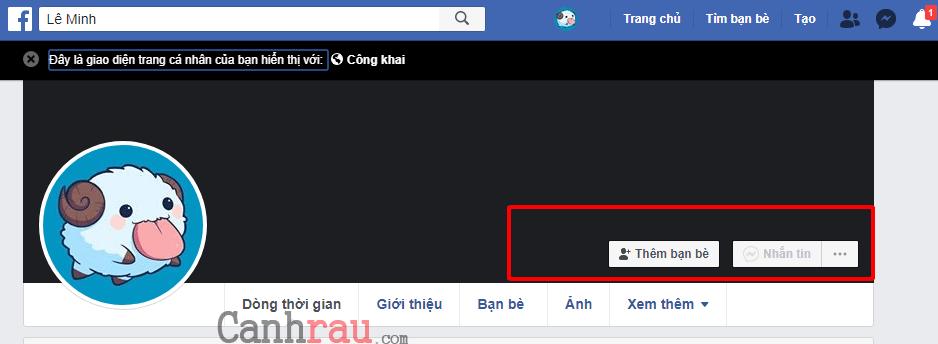 bật chế độ theo dõi công khai facebook hình 6