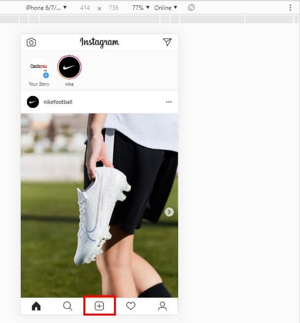 Cách đăng ảnh lên instagram bằng máy tính Windows 10 7 hình 4