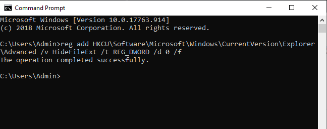 Cách hiển thị đuôi file trên máy tính hình 7
