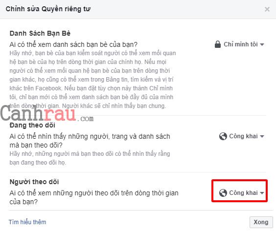 Cách hiển thị số người theo dõi trên Facebook mới nhất hình 1