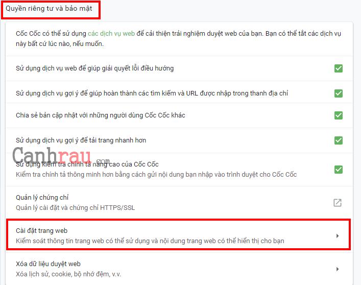 Cách tắt thông báo quảng cáo trên Google Chrome hình 2